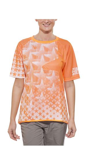 Zimtstern Bezzy Bike Jersey SS Women neon orange